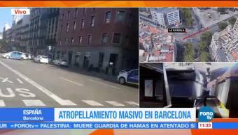 Policía, Barcelona, busca, camioneta