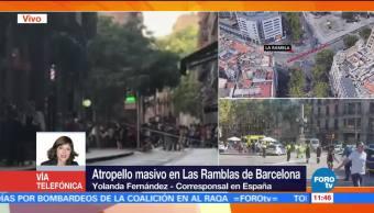 Policía, Barcelona, rodea, bar
