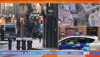 autores, atropello, Barcelona, Policía