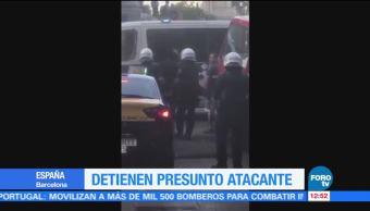 Detienen, sospechoso, atropellamiento, Barcelona