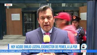 Emilio Lozoya no acude la PGR