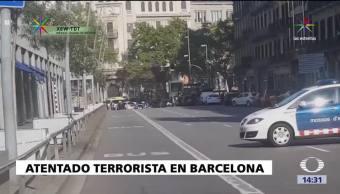 Los horrores del terrorismo llegan Barcelona