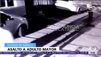 Roban Auto Adulto Mayor Ecatepec Edomex Camaras De Videovigilancia