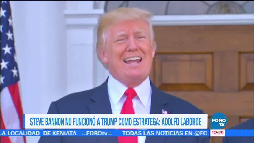 Formula Trump-Bannon Funciono Casa Blanca Academico