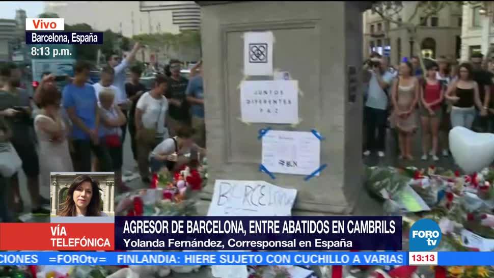 Sospechoso Atentado Barcelona Abatido Cambrils Conductor De La Furgoneta