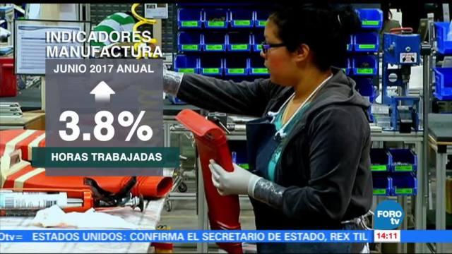 Sector manufacturero aumenta en junio INEGI