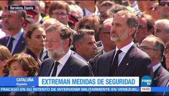 Un minuto de silencio en Cataluña