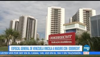 Exfiscal de Venezuela vincula a Maduro con corrupción de Odebrecht