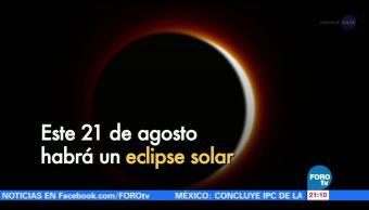 El lunes habrá eclipse de Sol