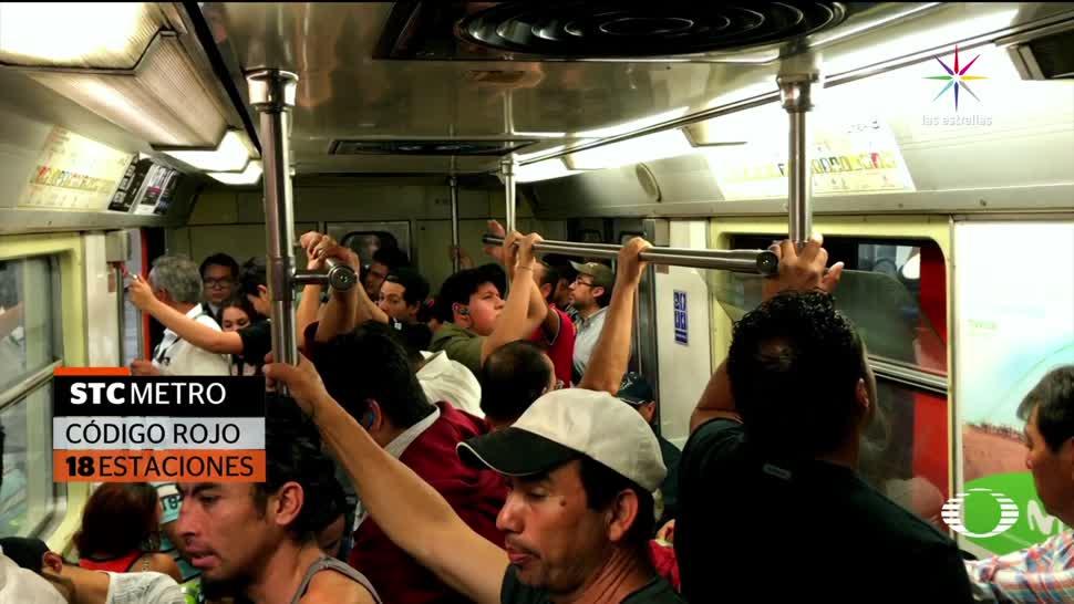 Se disparan el robo en el Metro de la CDMX