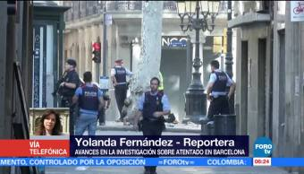 Avances Investigacion Atentado Barcelona Yolanda Fernandez