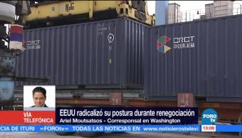 Mañana Concluye Primera Ronda Renegociacion Tlcan