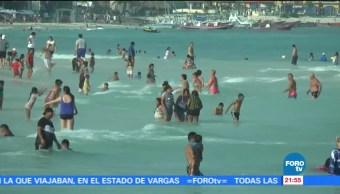 Ultimo fin de semana del periodo vacacional en Quintana Roo
