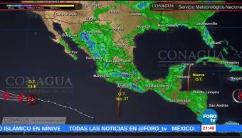 Se forma huracán Kenneth en el Pacífico