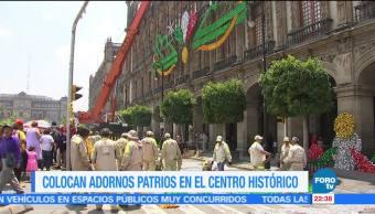 Comienzan los preparativos para conmemorar la Independencia en la CDMX