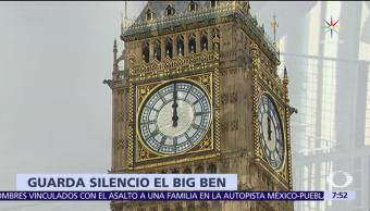 Big Ben, guardará, silencio, años