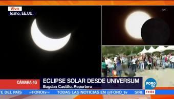 Universum Ofrece Capitalinos Eclipse solar