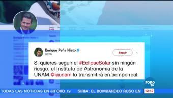Enrique Peña Nieto Población Eclipse solar