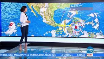 El, clima, con, Daniela Álvarez