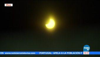 Eclipse Desde Ciudad De Mexico Especialistas Astronomia Camarografos