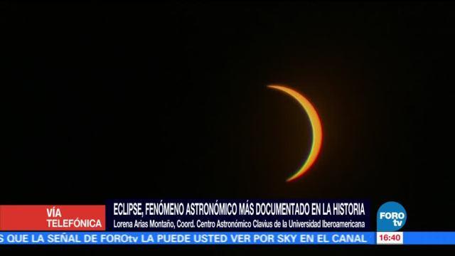Eclipse Solar Cdmx Lorena Arias Especialista De La Universidad Iberoamericana