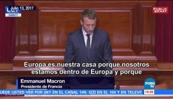 Macron Cumple Presidencia Francia Emmanuel Macron Presidente De Francia
