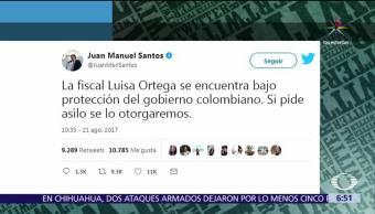 Colombia, protege, exfiscal, Venezuela