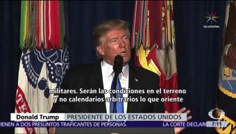 Trump No retira Ejército estadounidense Afganistán