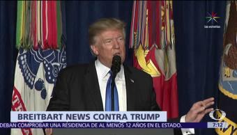 Breitbart News Critica Estrategia Trump