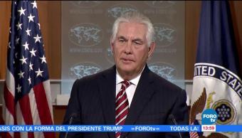 Complace Tillerson Contencion Mostrada Regimen Corea Norte