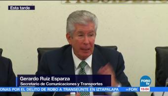 Ruiz Esparza Comparece Paso Express Secretario De Comunicaciones Gerardo Ruiz Esparza