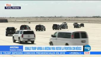 Protestan Arizona Llegada Trump Comunidad Hispana