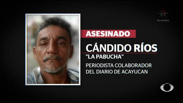 Matan a otro periodista en México