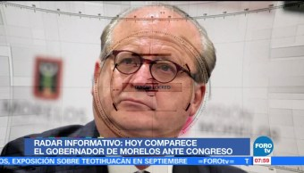Comparece, gobernador, Morelos, Congreso