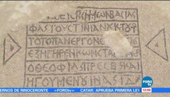 Arqueólogos, descubrieron, mosaico, Israel