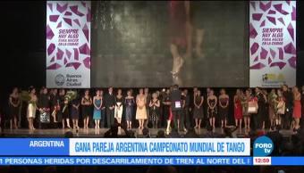51 países Participaron Campeonato Mundial Tango