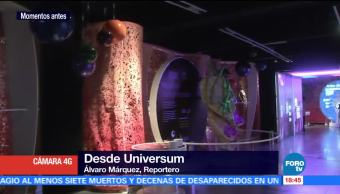 Como parte de su celebración de 25 aniversario el museo universitario Universum presenta la exposición temporal 'Un Mundo Dentro de Ti'