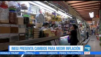 INEGI presenta cambios para medir inflación