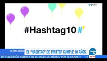 El hashtag cumple 10 años en Twitter
