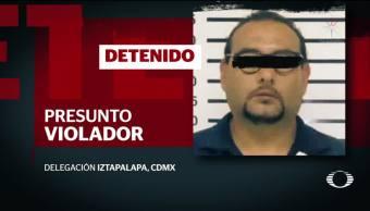 Cae presunto violador serial en la CDMX