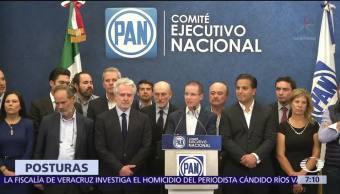 Legisladores PAN Defensa Ricardo Anaya