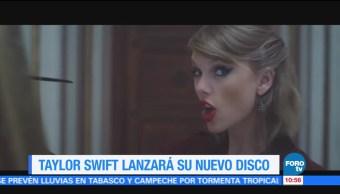 Taylor Swift, lanzará, nuevo, disco