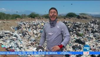 Residuos, plástico, hechos, ropa