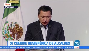 Osorio Chong Participa Cumbre Hemisférica Alcaldes
