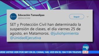Emiten alerta amarilla en Tamaulipas por el huracán Harvey