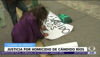 Reporteros denuncian mecanismo protección Cándido Ríos