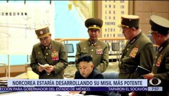 Corea Norte difunde fotografías líder misil