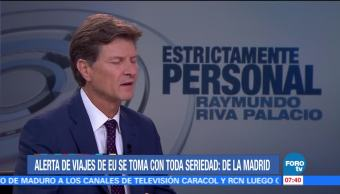 Alertas de viaje preocupantes Enrique Madrid