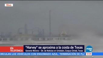Corpus Christi vientos lluvias huracán Harvey