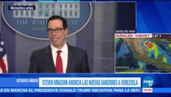 Gobierno Trump Anuncia Nuevas Sanciones Economicas Venezuela